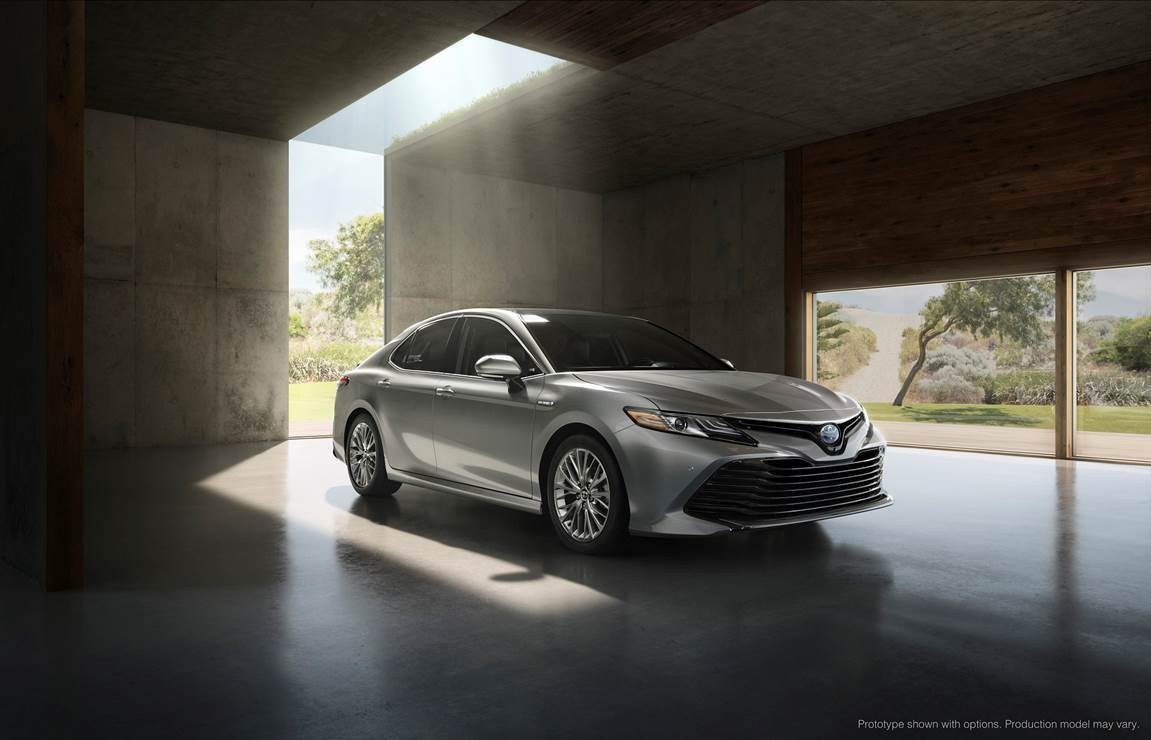 An Exterior With Unexpected Atude The 2018 Camry