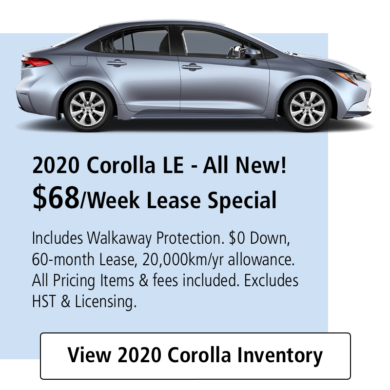 TGT Red Tag Days 2020Corolla